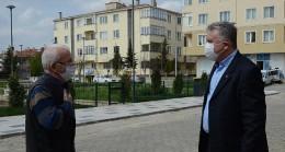 Başkan Gerenli hem denetledi hem vatandaşı dinledi