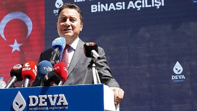 Ali Babacan'dan İzmir'den Yassıada mesajı 'Kimse eski Türkiye'nin karanlığını bir sopa gibi kullanmasın'