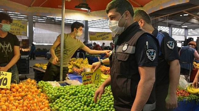 Aliağa Pazarı Kovid-19 Önlemleriyle Kuruldu
