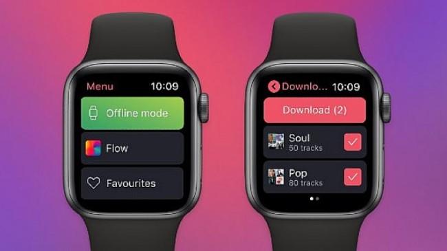 Deezer, Apple Watch ile sevdiğiniz şarkıları bileğinize taşıyor