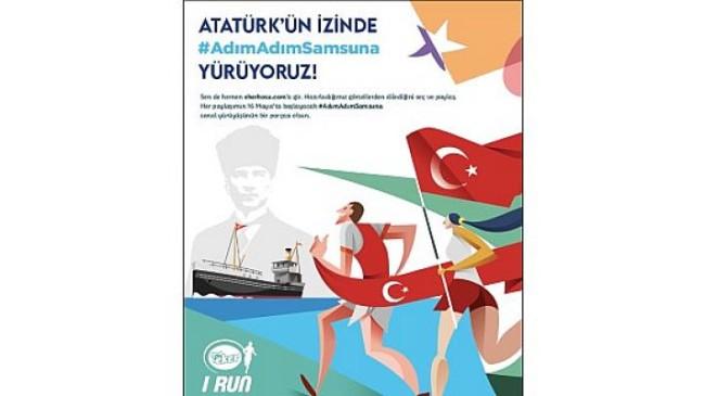 Eker I Run, 19 Mayıs'ı fark yaratan bir sanal yürüyüş etkinliğiyle kutlayacak: Atatürk'ün izinde