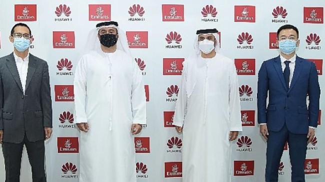 Emirates, Arap Seyahat Pazarı'nda (ATM) Global Teknoloji Devi Huawei İle Stratejik Anlaşma İmzaladı