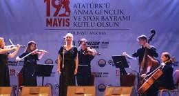 Gölbaşı Belediyesi 19 Mayıs Atatürk'ü Anma Gençlik ve Spor Bayramı'nda operanın ezgilerini evlere taşıdı.