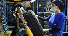 Goodyear'da lastik üretimine kadın eli değdi