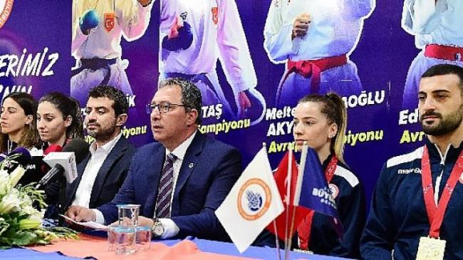 İstanbul BBSK'lı karetecilerin hedefi olimpiyat