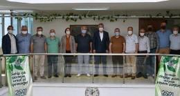 Oda başkanlarından Başkan Gerenli'ye destek ziyareti
