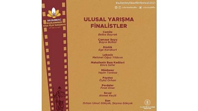 Sultanbeyli Uluslararası Kısa Film Yarışması'nda finalistler belli oldu