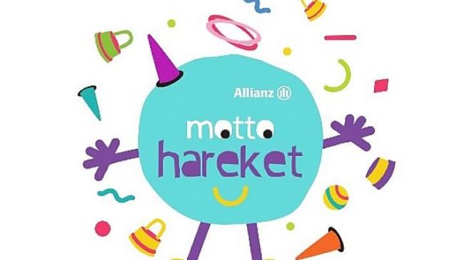 Allianz Motto Hareket Türkiye'deki Tüm Çocukları Harekete Çağırıyor