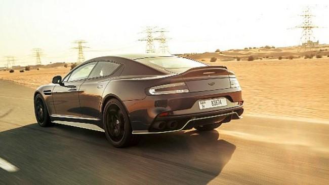 Aston Martin'den Lüks Bir Sedan: Rapide AMR Dünya Çapında Yalnızca 210 Kişi Sahip Olabilecek!