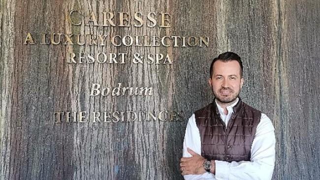 Caresse Bodrum'un Satış & Pazarlama Direktörü Hakan Öztürk oldu.