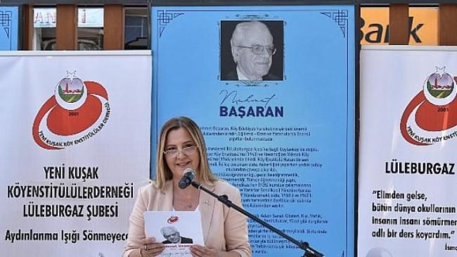 Mehmet Başaran'a duygusal anma