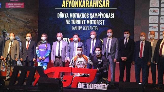 Motokrosun yıldızları Eylül'de Türkiye'de