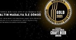 Torch Brewery'nin üstün başarısı Türkiye'ye ilk craft lezzet ödülünü getirdi