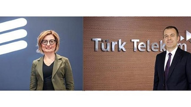 Türk Telekom ve Ericsson'dan teknolojik iş birliği