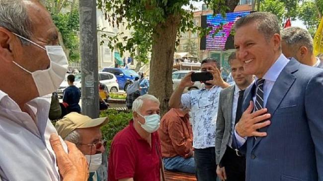 Türkiye Değişim Partisi Genel Başkanı Mustafa Sarıgül, Pendik İlçe Kongresi ardından basın açıklamasında bulundu.