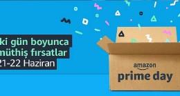 Türkiye'deki Prime üyeleri için binlerce fırsat 21 ve 22 Haziran'da Amazon Prime Day'de