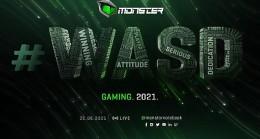 Yılın en büyük online etkinliği Monster #WASD için geri sayım başladı