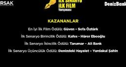 4. DenizBank İlk Senaryo İlk Film Yarışması'nın kazananları belli oldu