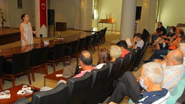 Başkan Sengel ecrimisil sorununda intikali yapılacak ilk esnaf grubuyla çözüm için buluştu