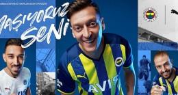 Fenerbahçe'nin yeni resmi sponsoru puma, 2021/2022 sezonu formalarını tanıttı