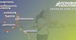 İBB'den kadınların izlerini taşıyan parkurda anlamlı koşu
