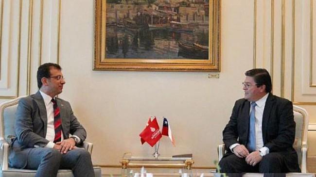 Şili Cumhuriyeti Ankara Büyükelçisi İstanbul'a ilk resmi ziyaretini yaptı