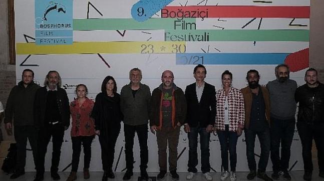 Kafes Filminin Ekibi 9. Boğaziçi Film Festivali'nde İzleyici Karşısına Çıktı